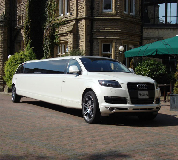 Audi Q7 Limo in Peebles
