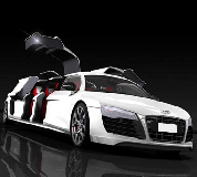 Audi R8 Limo Hire in Overton on Dee