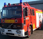 Fire Engine Hire in Melton Mowbray