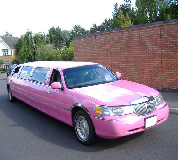 Lincoln Towncar Limos in Saltney