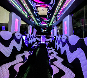 Party Bus Hire (all) in Llanfair Caereinion