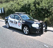 Police Car Hire in Tafarnaubach