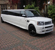 Range Rover Limo in Medlar with Wesham